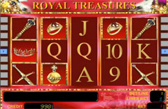 Основной экран Royal Treasures